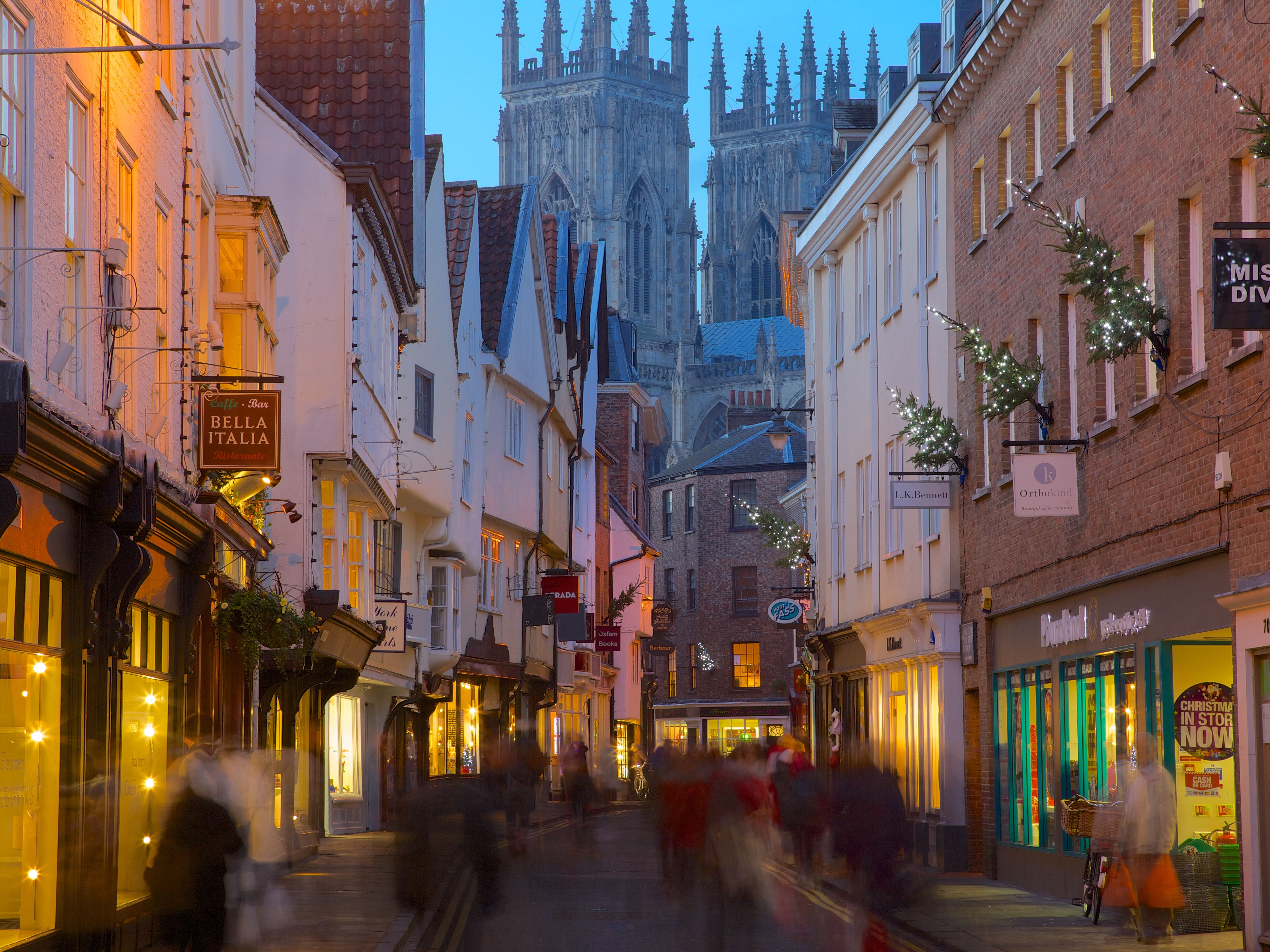 England Christmas.Christmas Markets And Events In Medieval York England
