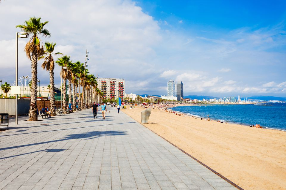 Map Of Spain Near Barcelona.Top 10 Beaches In Barcelona Spain