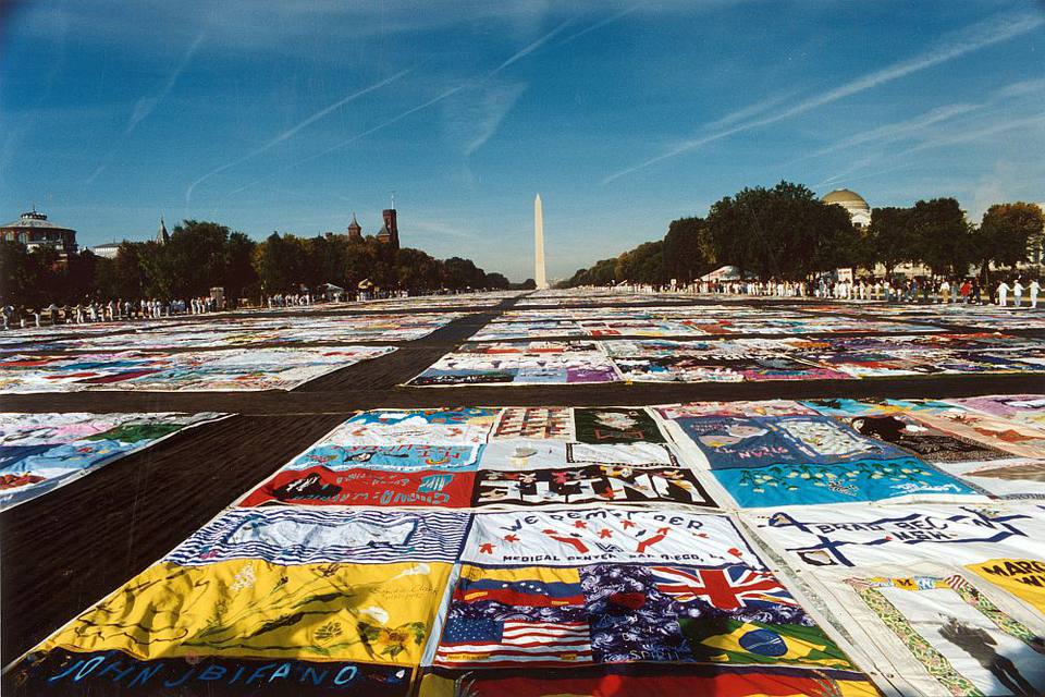 AIDS Memorial Quilt at the National Mall