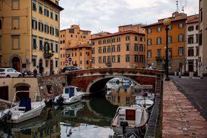 Quartiere Venezia in Livorno