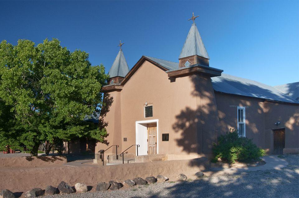 Antigua Iglesia de San Ysidro en Corrales.