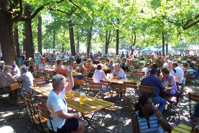 What to Expect at a German Biergarten