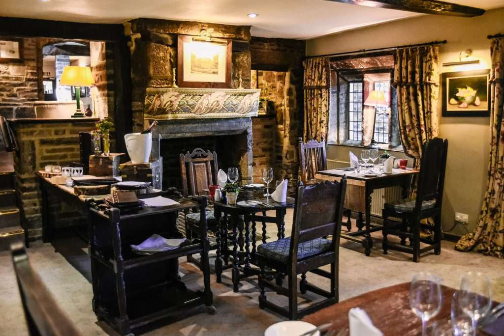 The Stone Room at the Holdsworth House Hotel and Restaurant