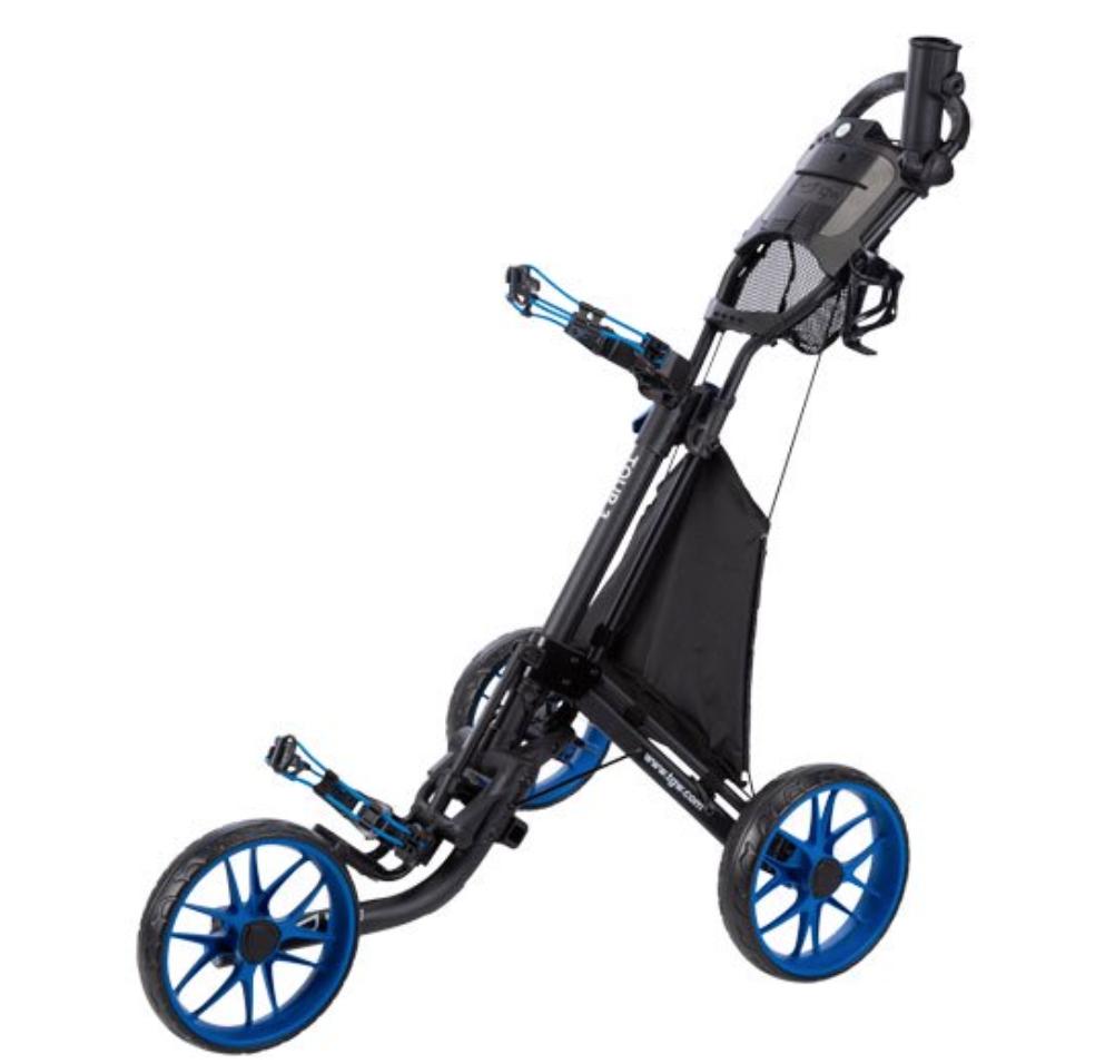 Carro de empuje de golf de 3 ruedas TGW Tour