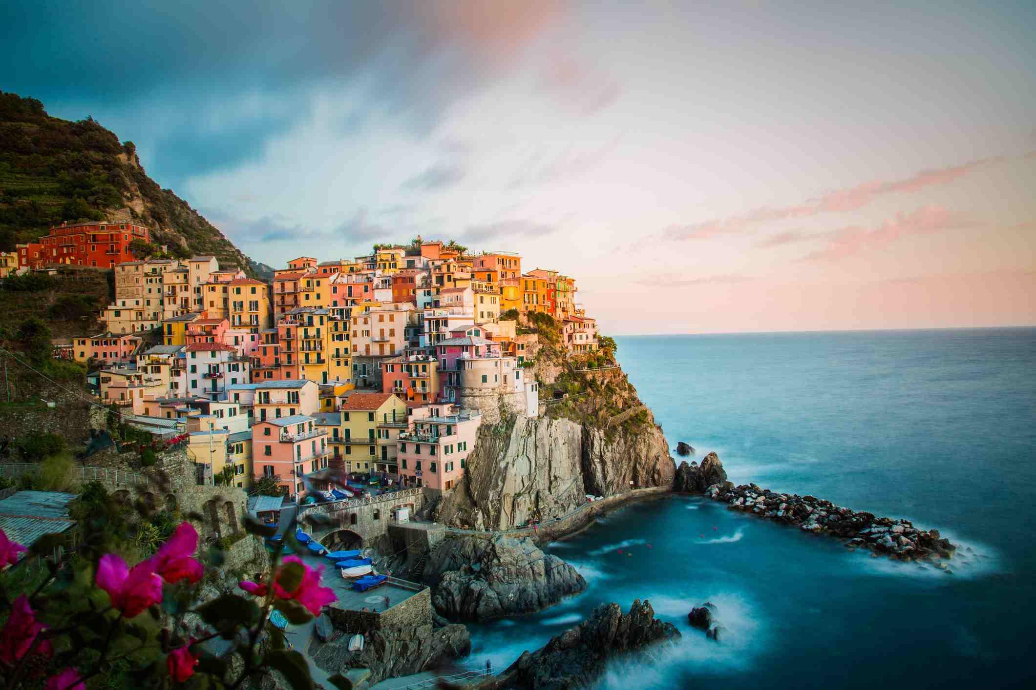 Excursión privada en tren de cinco pueblos a Cinque Terre desde La Spezia, 