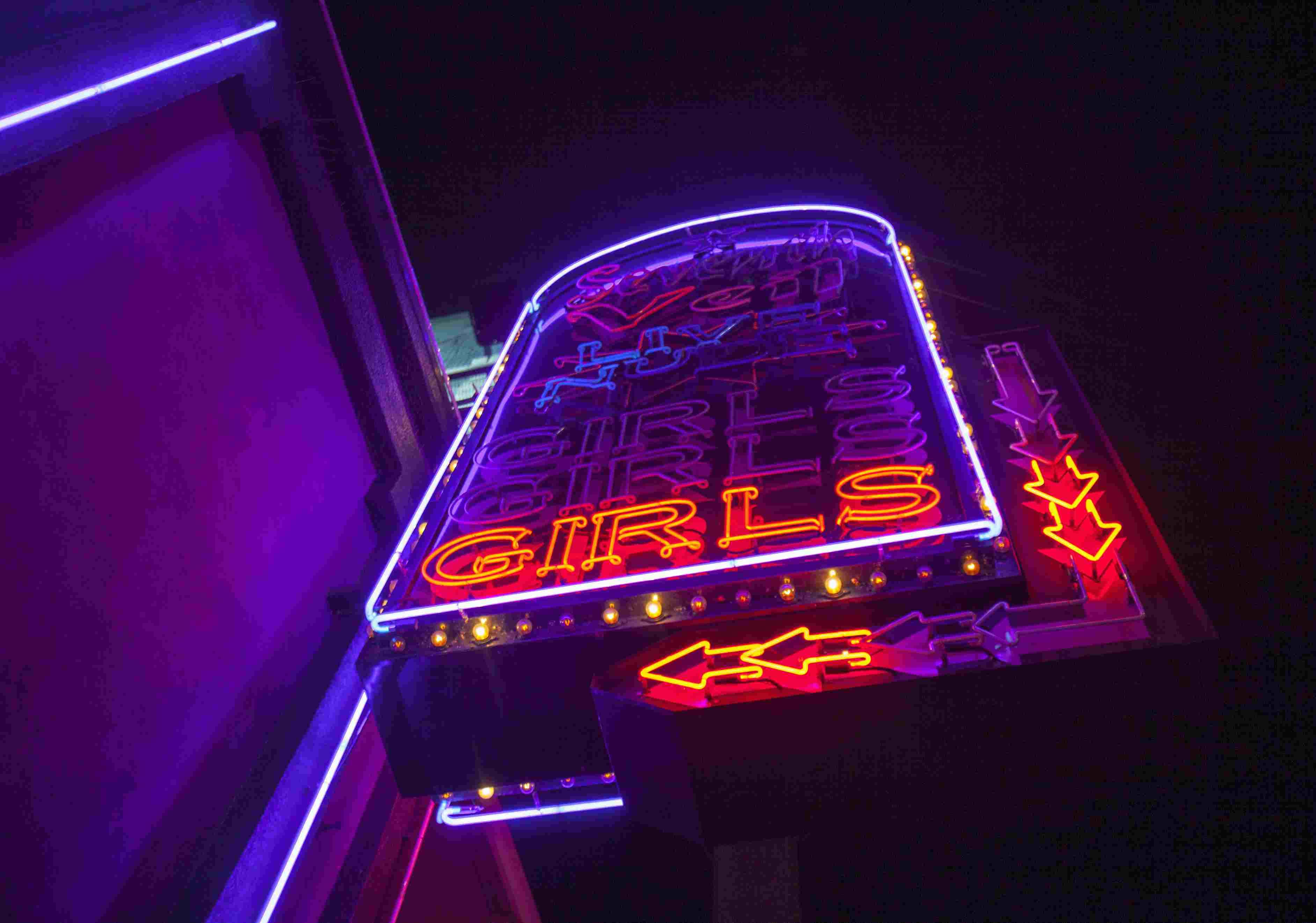 Стриптиз клубы в лос анджелесе клубы москвы с сексом и стриптизом