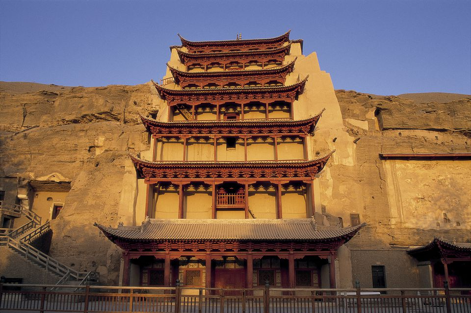 Save to Board Mogao Caves, UNESCO World Heritage Site, Dunhuang, Gansu Province, China, Asia