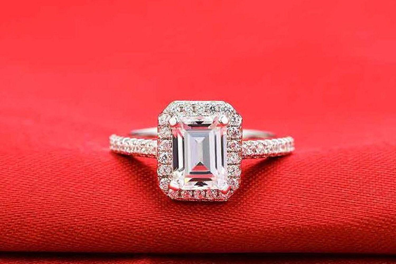 Best Radiant Cut The Tenfit: Big Wedding Rings Princess Cut Rock At Reisefeber.org