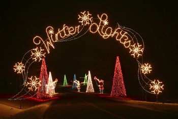 winter lights - Baltimore 34th Street Christmas Lights