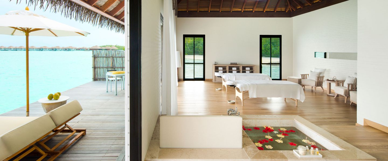 The spa at COMO Maalifushi resort Maldives