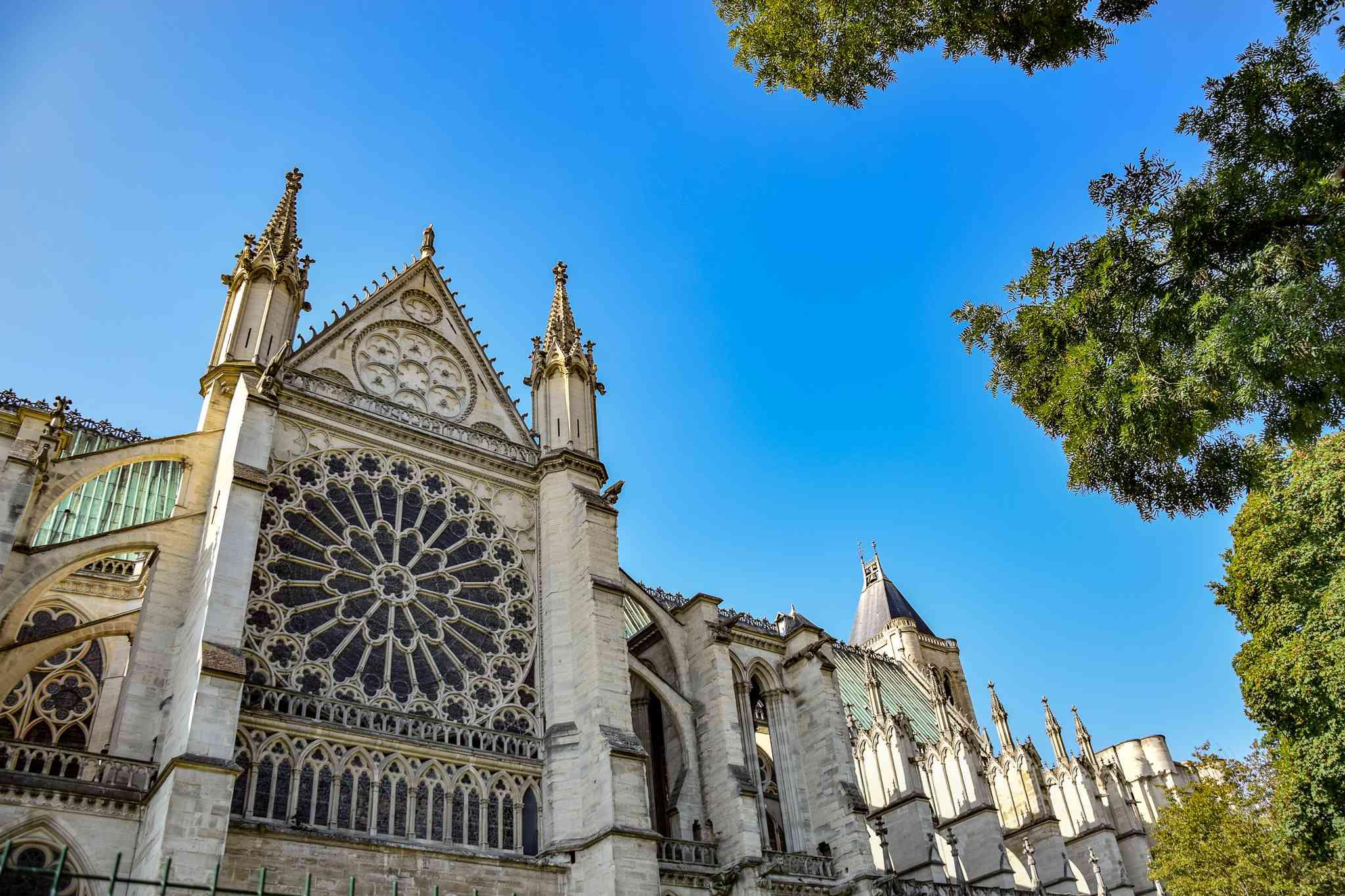 Basilica Cathedral of Saint-Denis, Paris, France