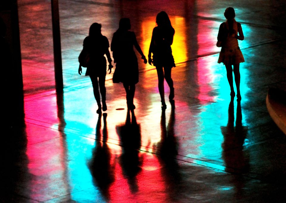 Girls night out in Las Vegas