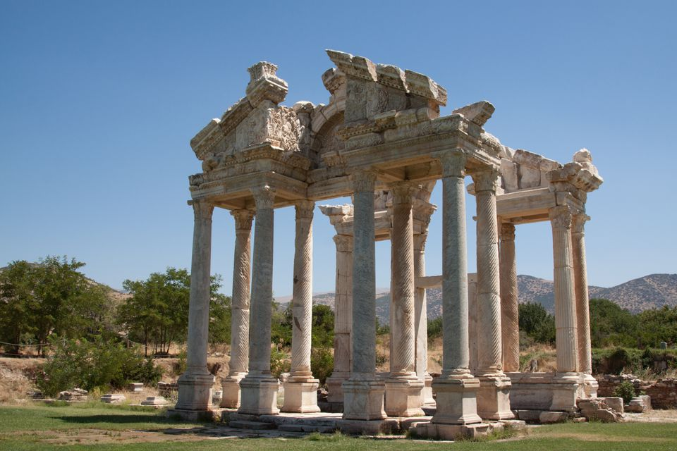 Monumental Gateway to Sanctuary of Aphrodite at Aphrodisias
