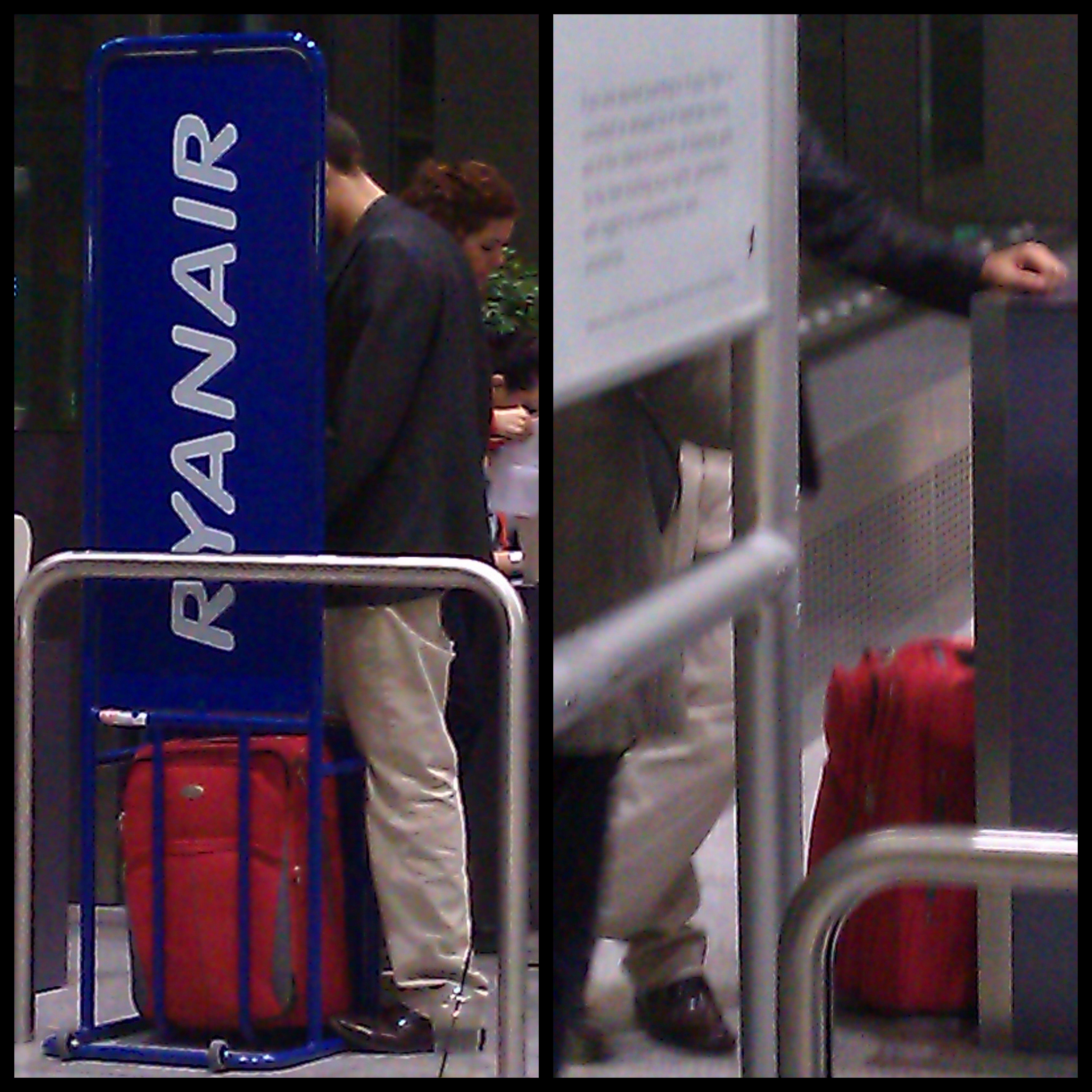 Un pasajero de Ryanair obligado a pagar una tarifa, a pesar de su equipaje