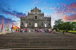 Macau Ruin of St Paul Church