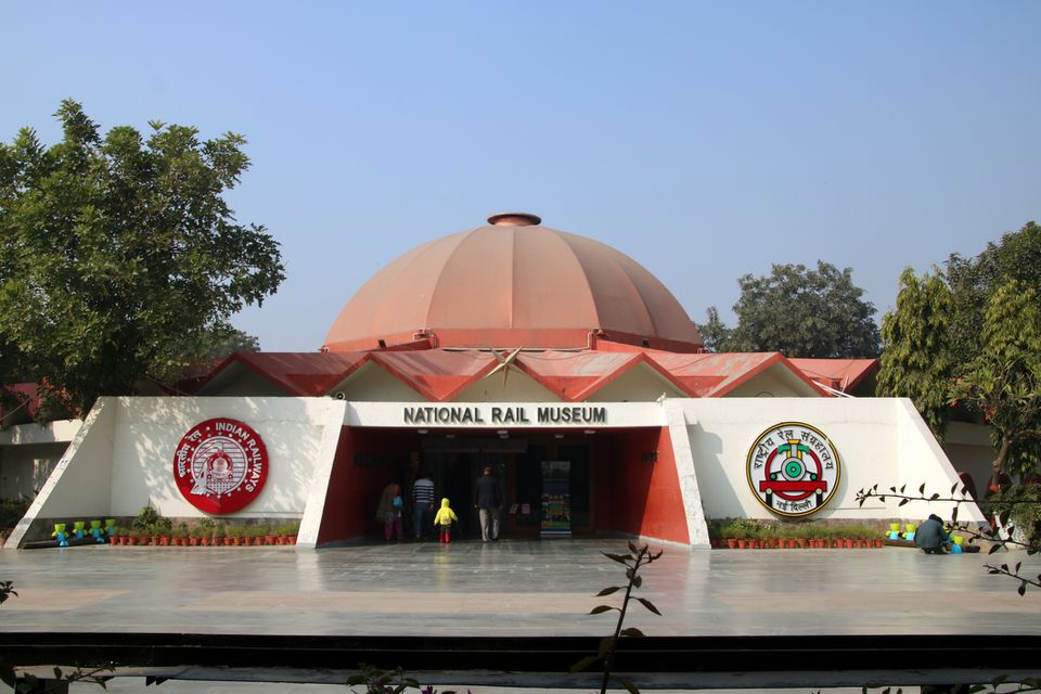 National Rail Museum, Delhi.