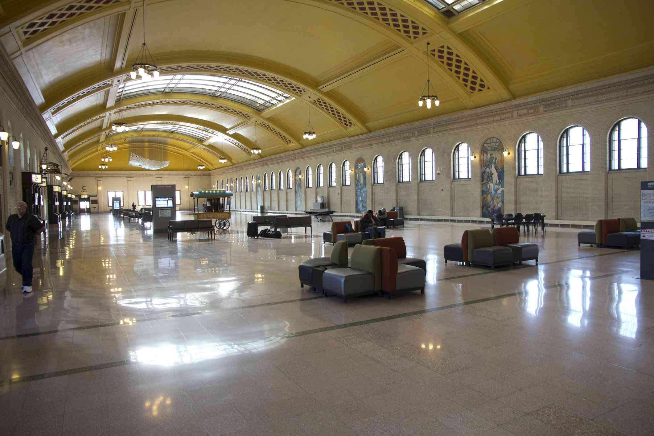 Union Depot interior, Saint Paul, MN