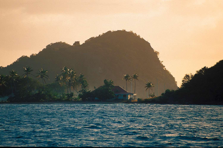 sugarloaf mountain Guadeloupe