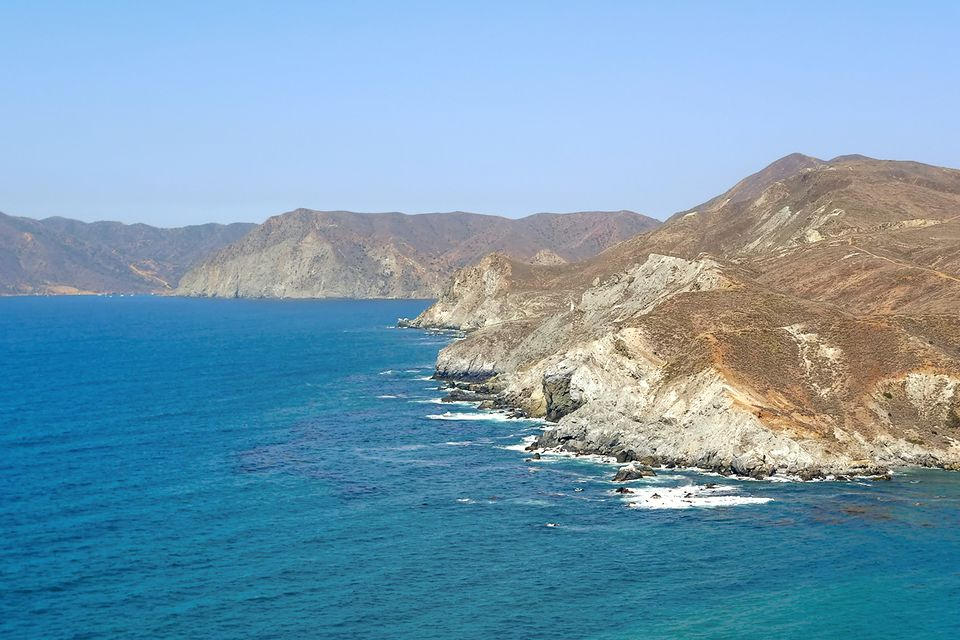Views on a Catalina Hike