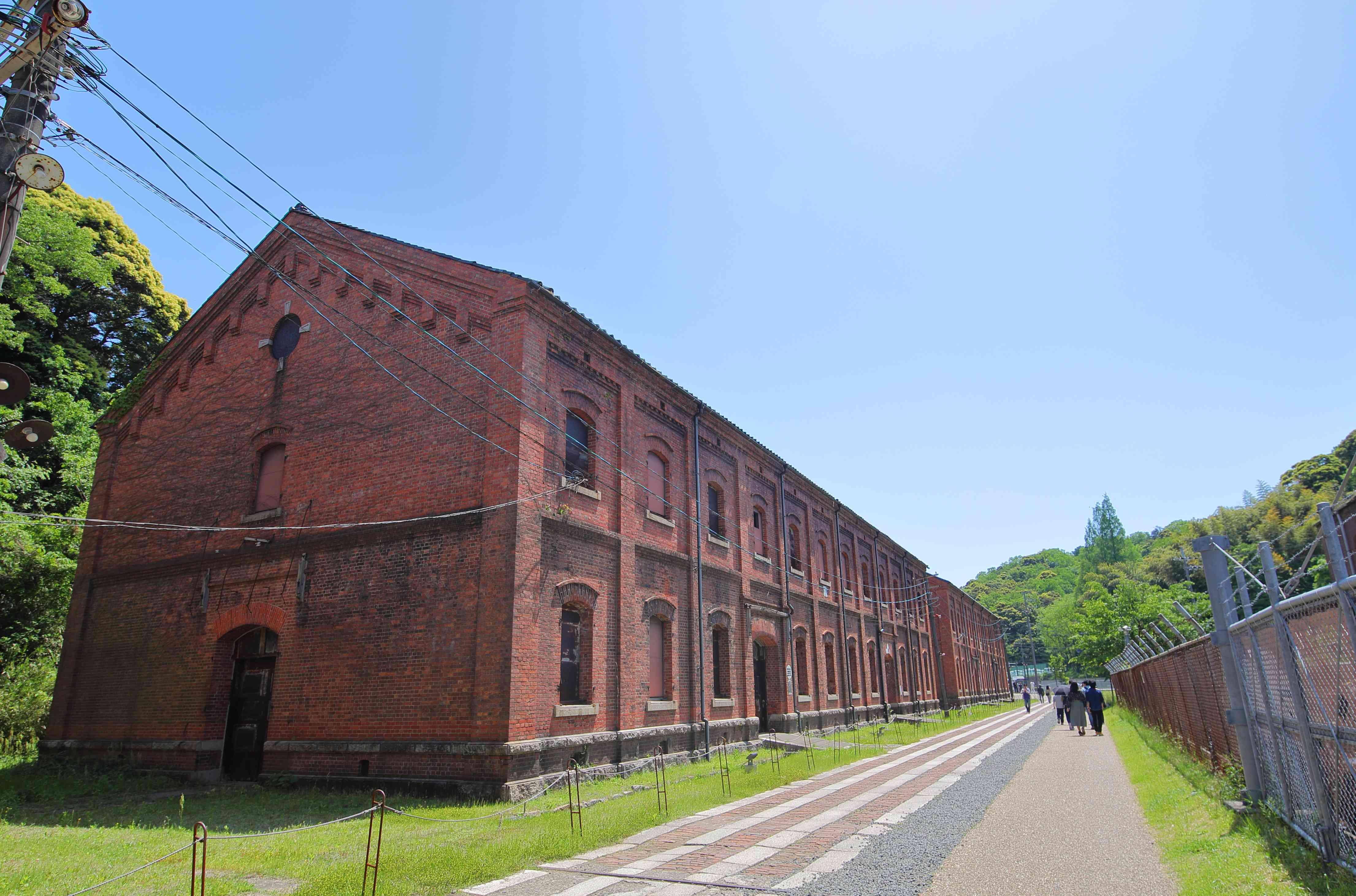 Red brick warehouse Maizuru Kyoto Japan