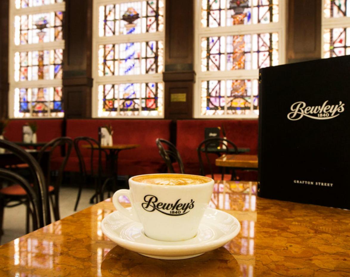Bewley's coffee cup