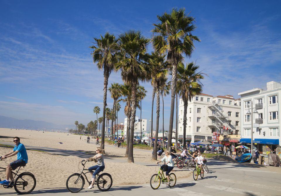 Venice Beach boardwalk, Los Angeles, California