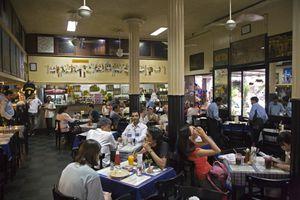 Leopold Cafe, Colaba.