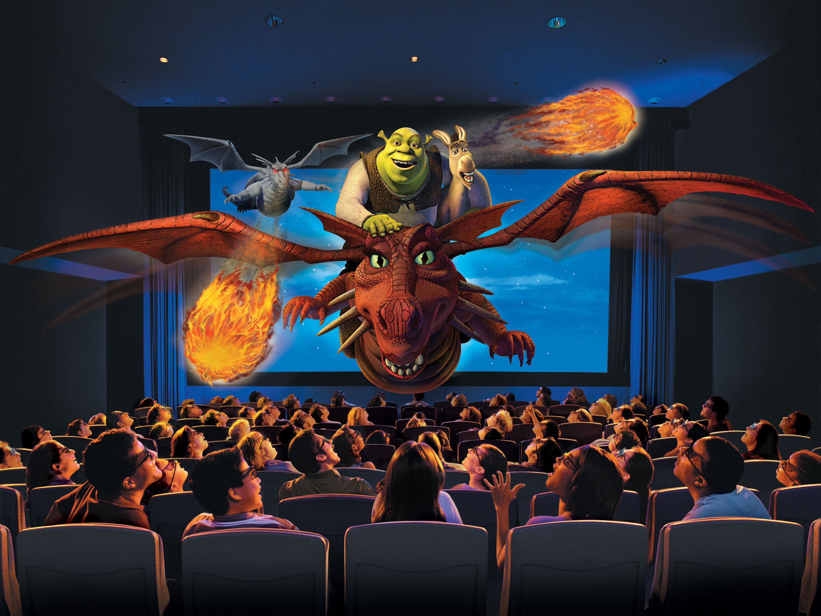 What is a 4-D Movie? Enhancing the 3-D Film Experience