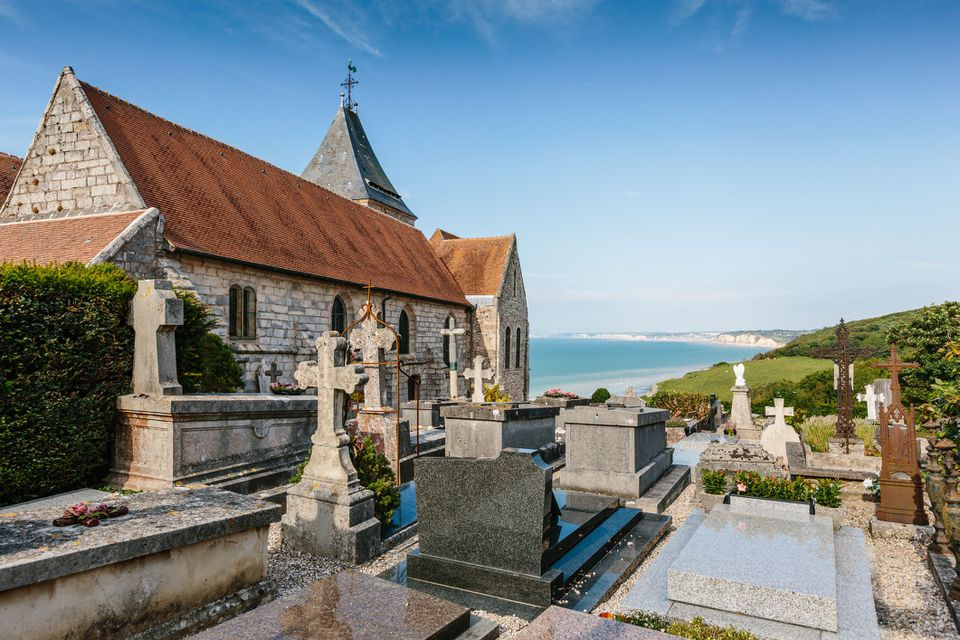Church of St Valery, Varengeville Sur Mer