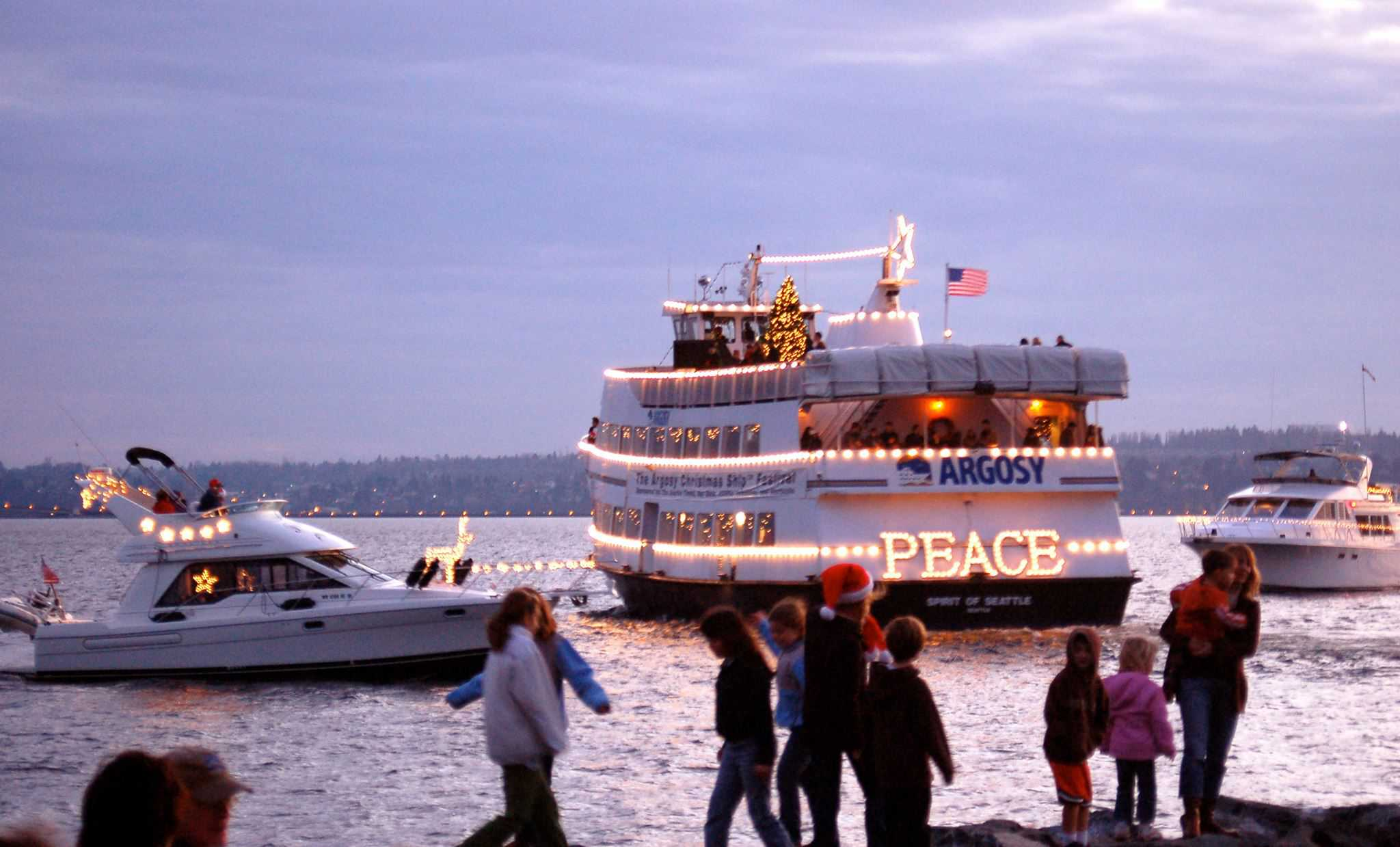 Argosy Cruises Christmas Ship
