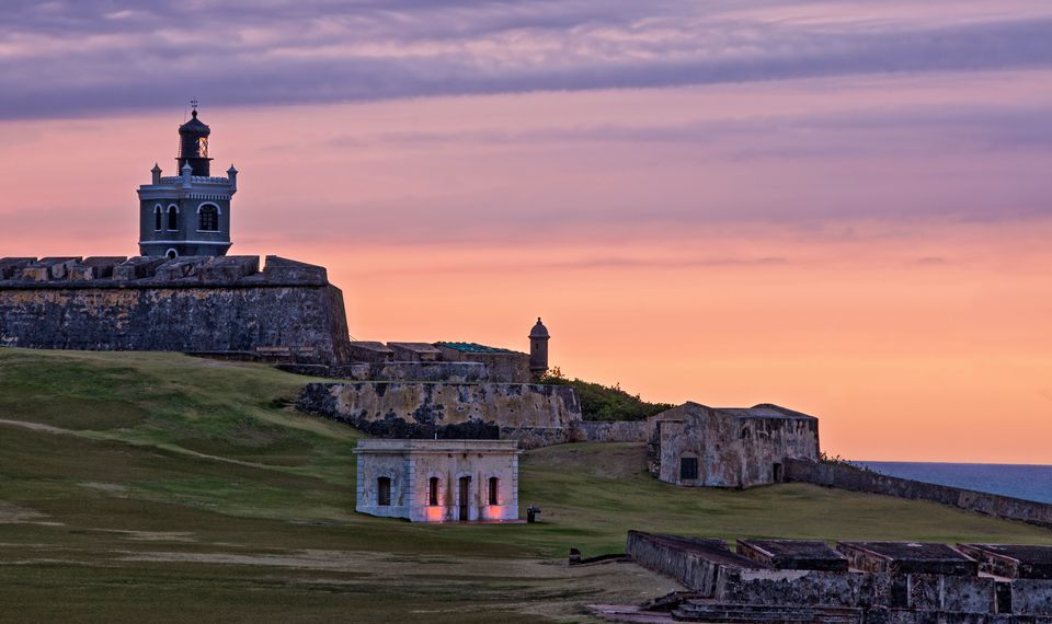 El Morro at Sunset
