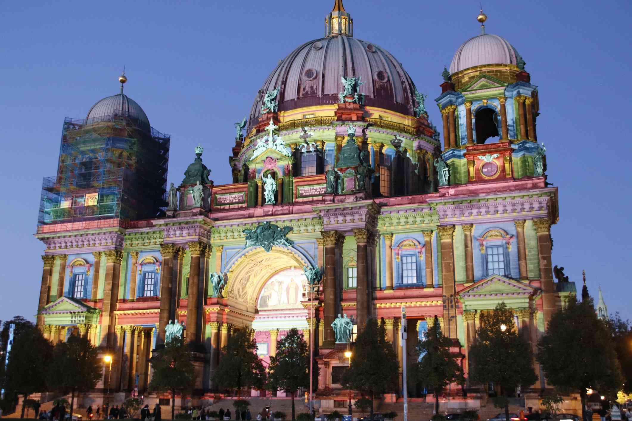 Berlin Dom Festival of lights