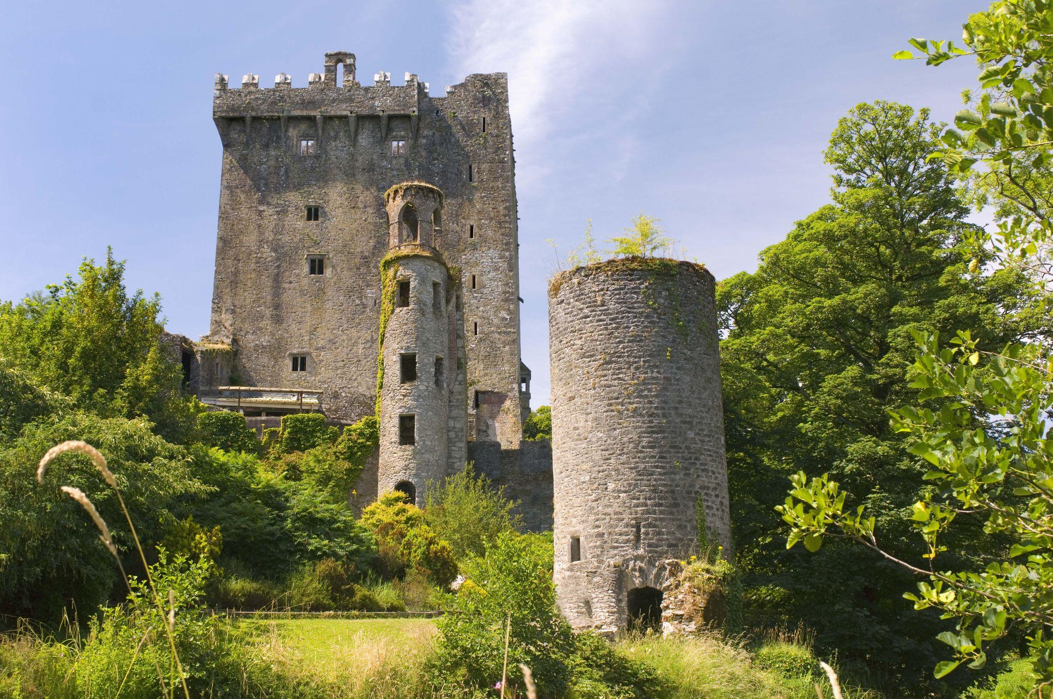 Castillo de Blarney, hogar de la piedra de Blarney