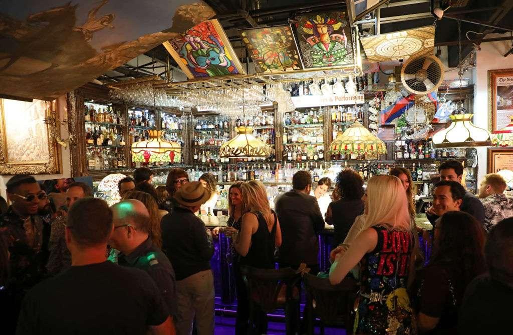 Cubaocho Museum interior with bar