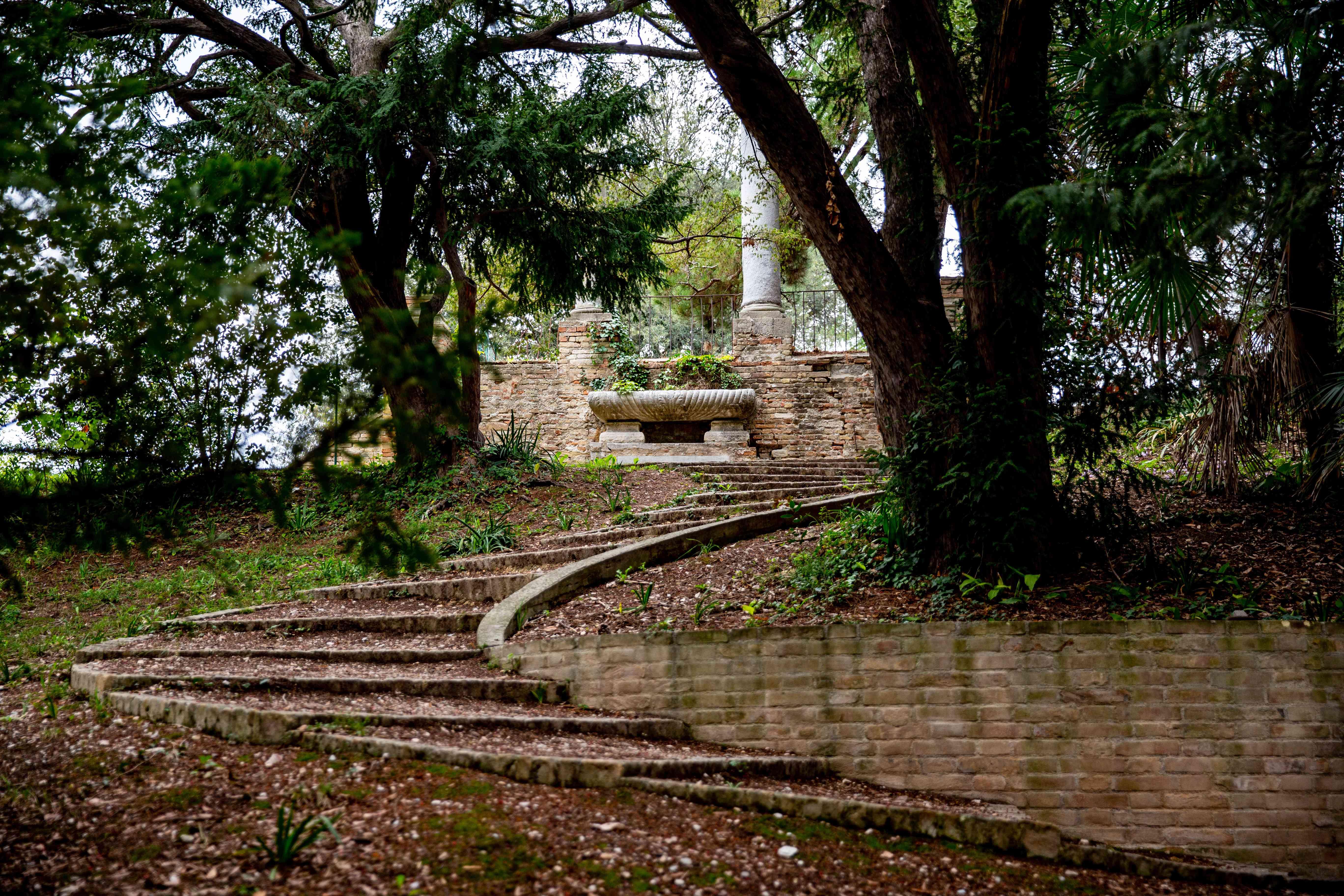 Orti Giuli Gardens in Pesaro, Italy