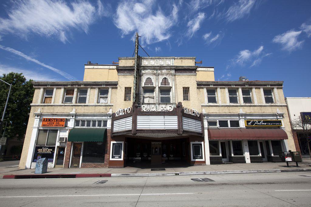 The Rialto Theatre in South Pasadena
