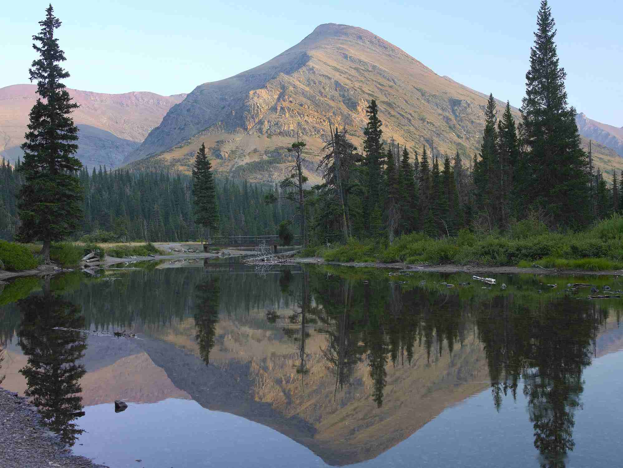 Two Medicine Lake, Glacier National Park, Montana, USA