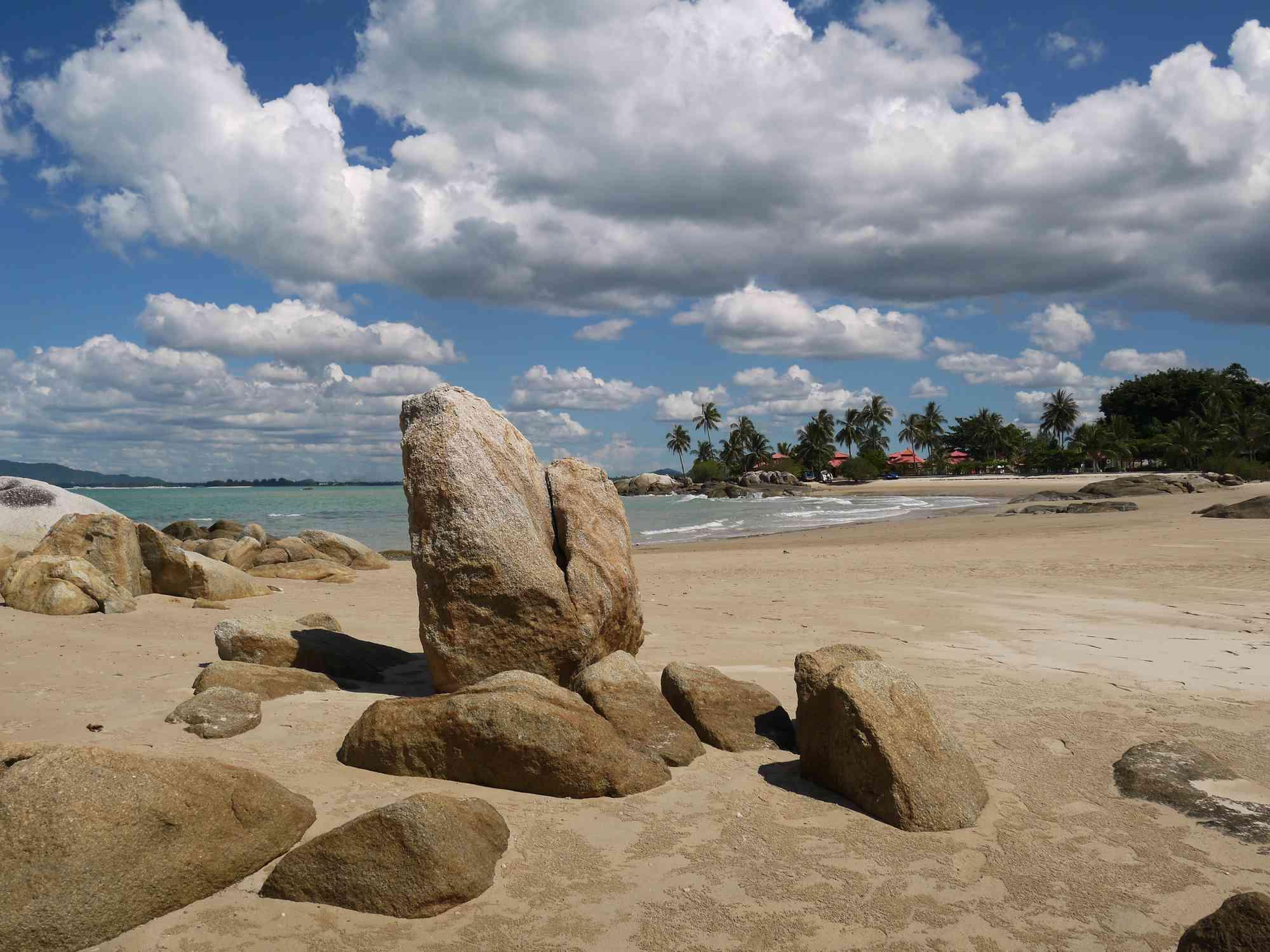 Parai Tenggiri Beach Bangka, Indonesia