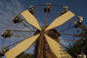 Ferris Wheel at Centreville Amusement Park