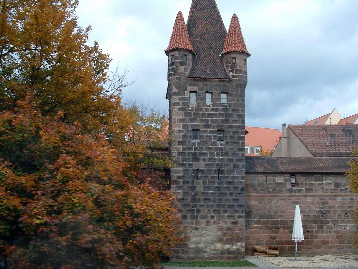 Medieval Nuremberg Tower