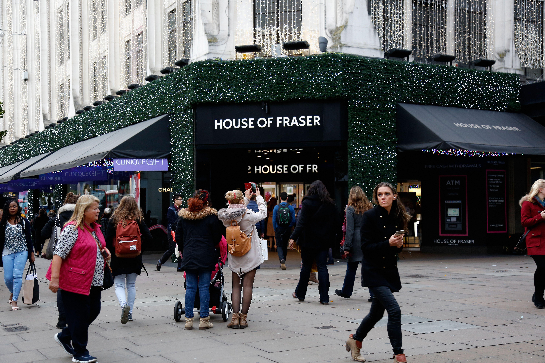 House of Fraser in London