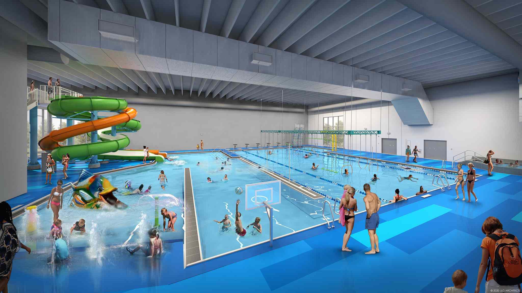 New Ulm water park in Minnesota