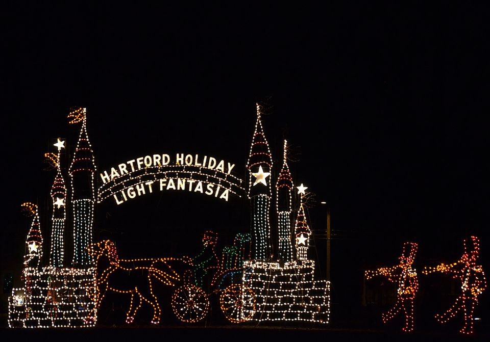 Hartford Holiday Light Fantasia 2017