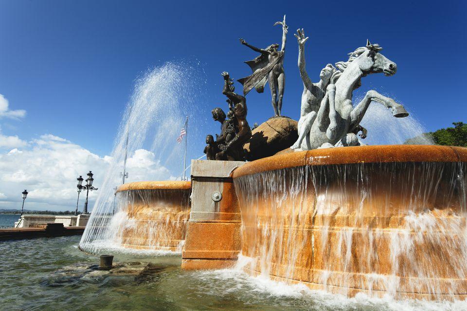 Fountain in San Juan