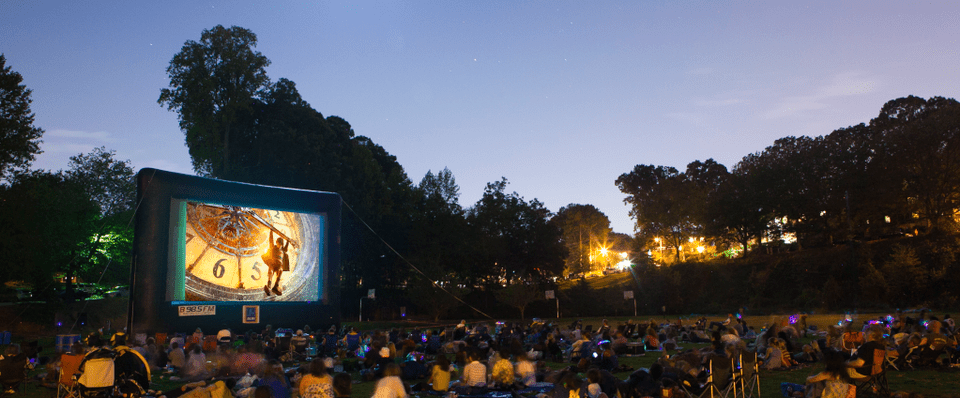 Backyard Movie Theatre atlanta's best outdoor movies and drive-in theaters