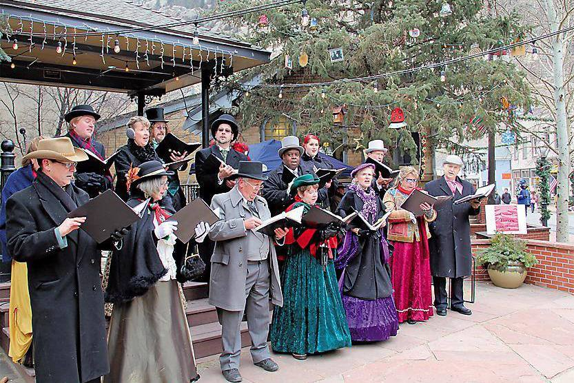 Carolers at the Georgetown Christmas Market