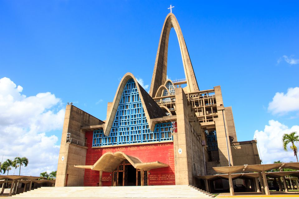 Basilica la Altagracia in Dominican Republic