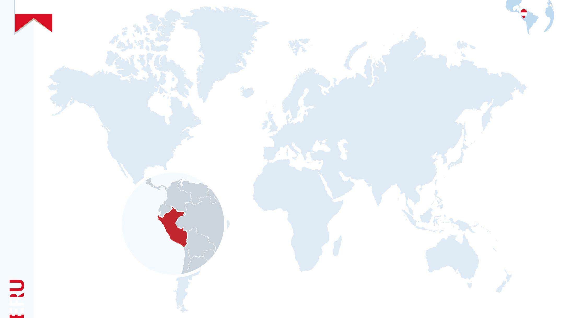 Sensational Location Of Peru On A Global Map Download Free Architecture Designs Scobabritishbridgeorg