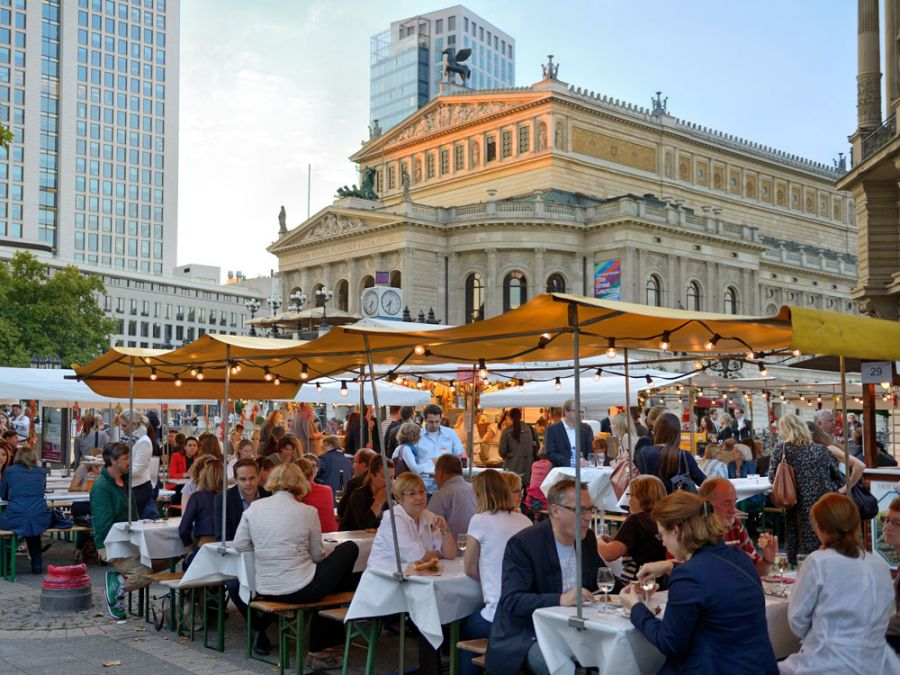 Rheingau Festival in Frankfurt