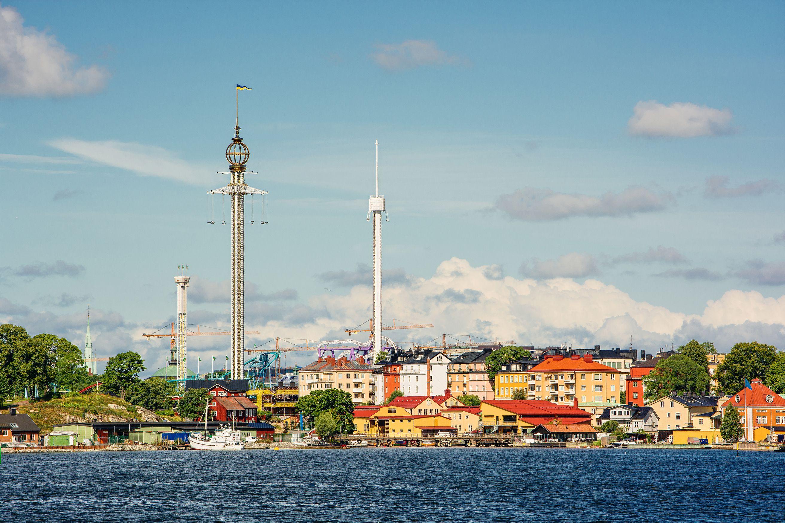 Grona Lund amusement park, Stockholm, Sweden